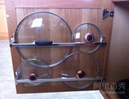 厨房小妙招:教你省空间的放置锅盖