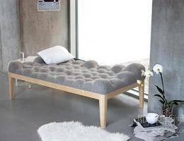 像云朵一样的床 让你享受自然舒适之感