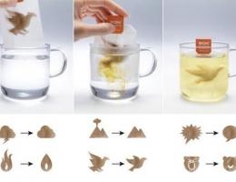 会变形的茶包 让你的心情瞬间舒缓